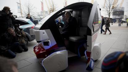 Britain Driverless Cars